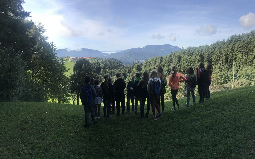 Dnevnik sedmošolcev na Pohorju
